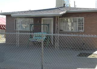 Pre Foreclosure in El Paso 79905 CLEVELAND AVE - Property ID: 1645304217