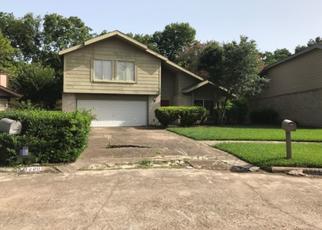 Pre Foreclosure in Houston 77072 LEAF GLEN LN - Property ID: 1645335315