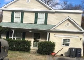 Pre Foreclosure in Suitland 20746 WESSON DR - Property ID: 1645532859