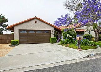 Pre Foreclosure in San Clemente 92672 E AVENIDA CORDOBA - Property ID: 1647790604