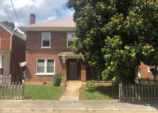 Pre Foreclosure in Pulaski 24301 3RD ST NW - Property ID: 1649945435