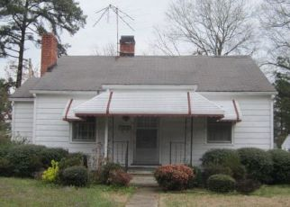 Pre Foreclosure in Wilson 27893 DENBY ST SW - Property ID: 1650557727