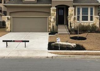Pre Foreclosure in Leander 78641 VENEZIA VW - Property ID: 1652263188