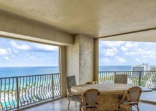 Pre Foreclosure in Fort Lauderdale 33316 S BIRCH RD - Property ID: 1653243827