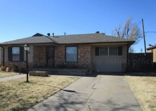 Pre Foreclosure in Pampa 79065 HAMILTON ST - Property ID: 1653653321