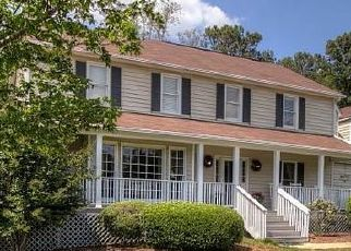 Pre Foreclosure in Alpharetta 30009 BETHANY RD - Property ID: 1654944920