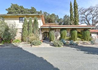Pre Foreclosure in Calistoga 94515 FOOTHILL BLVD - Property ID: 1655527414