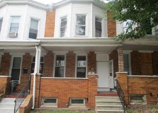 Pre Foreclosure in Baltimore 21213 ERDMAN AVE - Property ID: 1656035466
