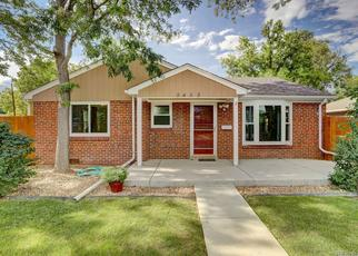Pre Foreclosure in Arvada 80002 CLARA BELLE DR - Property ID: 1656187441