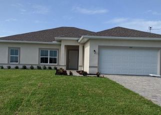 Pre Foreclosure in Cape Coral 33993 NW 8TH TER - Property ID: 1657850428