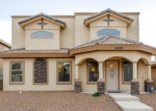 Pre Foreclosure in El Paso 79938 HUECO LAND LN - Property ID: 1658350146