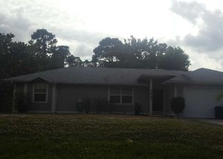 Pre Foreclosure in Port Saint Lucie 34953 SW BARGELLO AVE - Property ID: 1658476741