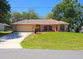 Pre Foreclosure in Dunnellon 34434 N TRAVIS DR - Property ID: 1659270334