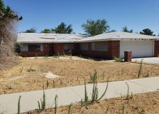Pre Foreclosure in Lancaster 93536 W AVENUE M4 - Property ID: 1659309767
