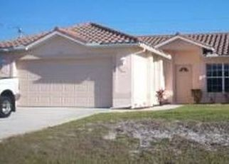Pre Foreclosure in Cape Coral 33991 SW EMBERS TER - Property ID: 1659316769