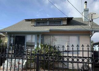 Pre Foreclosure in Oakland 94605 65TH AVE - Property ID: 1659343481