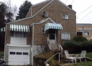 Pre Foreclosure in Pittsburgh 15227 AGNEW RD - Property ID: 1659693869