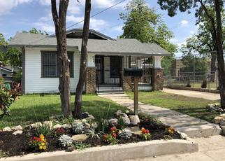 Pre Foreclosure in San Antonio 78203 IOWA ST - Property ID: 1662239366