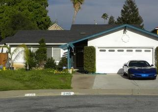 Pre Foreclosure in San Jose 95121 BLANDING AVE - Property ID: 1662407551
