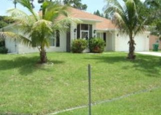 Pre Foreclosure in Port Saint Lucie 34983 SE VOLTAIR TER - Property ID: 1662413688