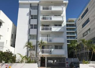 Pre Foreclosure in Miami Beach 33139 OCEAN DR - Property ID: 1664078420