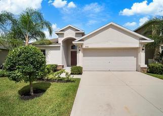 Pre Foreclosure in Wimauma 33598 MAGNOLIA RESERVE PL - Property ID: 1664748973
