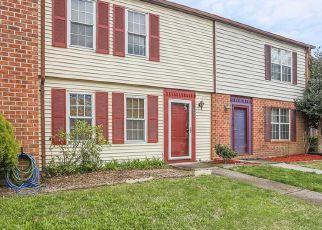 Pre Foreclosure in Williamsburg 23185 LONDON COMPANY WAY - Property ID: 1664934659
