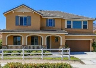 Pre Foreclosure in Corona 92883 SANTIAGO CANYON RD - Property ID: 1667166578