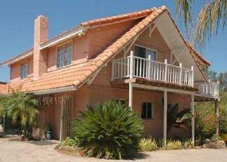 Pre Foreclosure in Vista 92083 AVOCADO DR - Property ID: 1667175331