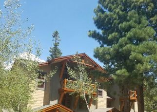 Pre Foreclosure in Mammoth Lakes 93546 LODESTAR DR - Property ID: 1667223963