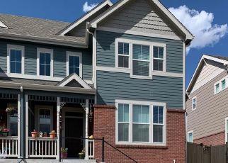 Pre Foreclosure in Aurora 80015 E CRESTRIDGE DR - Property ID: 1669185192