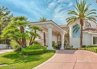 Pre Foreclosure in Las Vegas 89117 S TIOGA WAY - Property ID: 1670288456