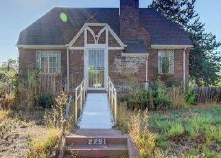 Pre Foreclosure in Denver 80207 KRAMERIA ST - Property ID: 1676682879