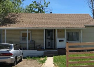 Pre Foreclosure in Denver 80219 S WINONA CT - Property ID: 1676690319