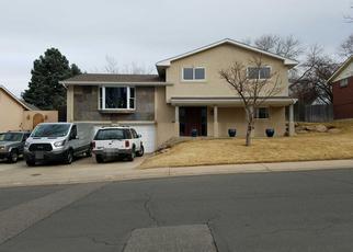 Pre Foreclosure in Denver 80236 S UTICA ST - Property ID: 1676699965