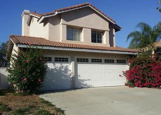 Pre Foreclosure in Corona 92883 GOLD RUSH DR - Property ID: 1678105862