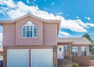 Pre Foreclosure in El Paso 79912 PLAZA ROJA CT - Property ID: 1679637443