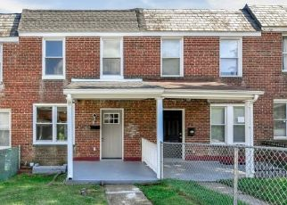Pre Foreclosure in Baltimore 21229 S CULVER ST - Property ID: 1682212741