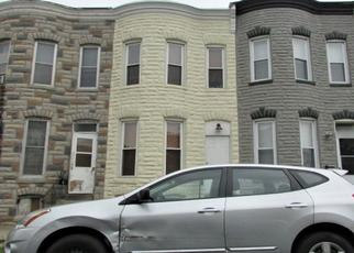 Pre Foreclosure in Baltimore 21230 CARROLL ST - Property ID: 1682217105