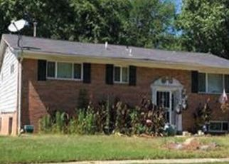 Pre Foreclosure in Suitland 20746 LADD RD - Property ID: 1682774657