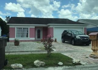 Pre Foreclosure in Tampa 33635 CAMINO VILLA BLVD - Property ID: 1685754637