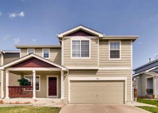 Pre Foreclosure in Brighton 80601 LARK LN - Property ID: 1689204553