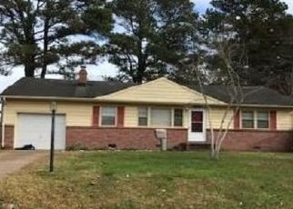 Pre Foreclosure in Virginia Beach 23455 GARWOOD AVE - Property ID: 1689945151