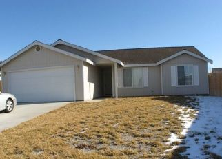 Pre Foreclosure in Fernley 89408 DUTCH OVEN CT - Property ID: 1691914740