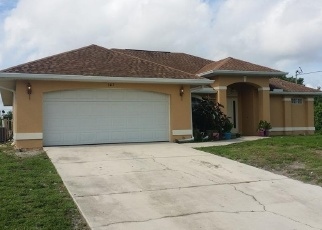 Pre Foreclosure in Lehigh Acres 33976 32ND ST SW - Property ID: 1696634786