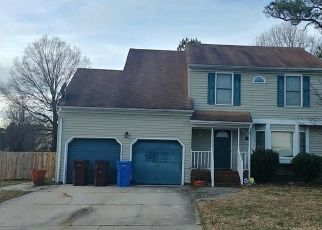 Pre Foreclosure in Chesapeake 23321 CAPTAIN CARTER CIR - Property ID: 1704245903