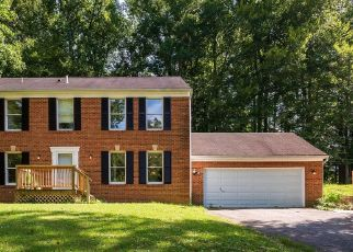 Pre Foreclosure in Bowie 20715 LEA DR - Property ID: 1704768842