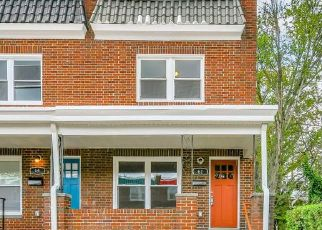 Pre Foreclosure in Baltimore 21229 S MORLEY ST - Property ID: 1711242980