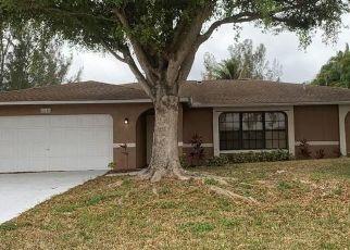 Pre Foreclosure in Cape Coral 33991 SW 20TH ST - Property ID: 1714812453