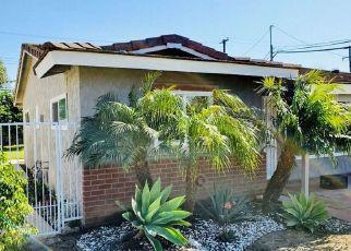 Pre Foreclosure in Santa Ana 92704 W ELDER AVE - Property ID: 1718046452